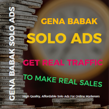 GENA BABAK SOLO ADS TRAFFIC