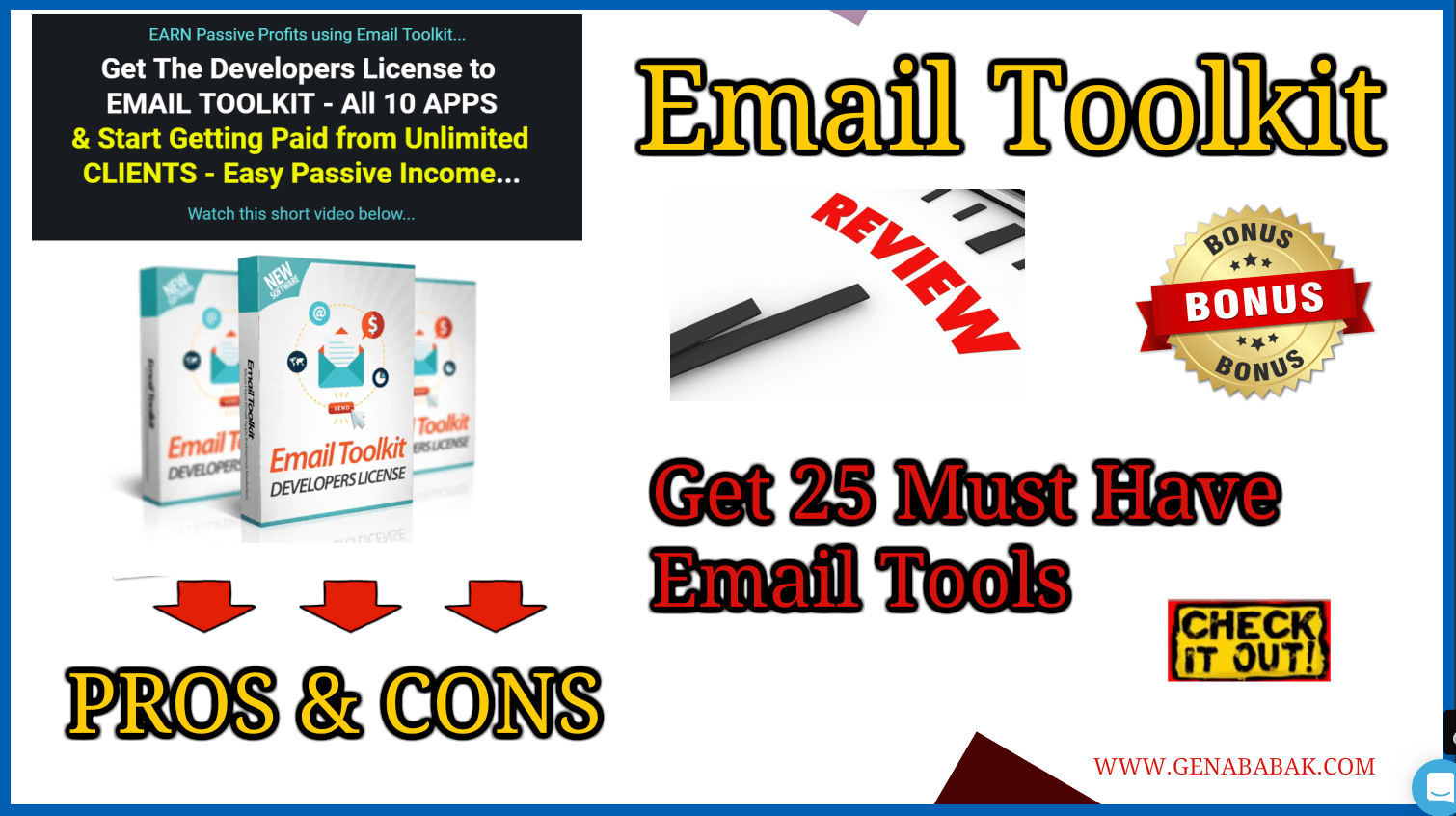 Email Toolkit Review – Get Access to 25 Must Have Email Tools in 2019