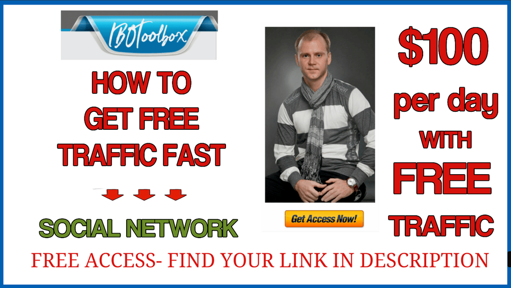 How to get free traffic from IBOTOOLS network platform