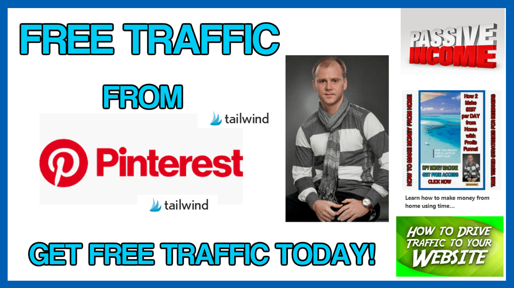 Get free traffic from Pinterest using Tailwind automation