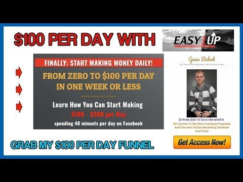 How to make money with Easy1up fast