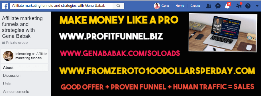 Affiliate marketing funnels and strategies with Gena Babak