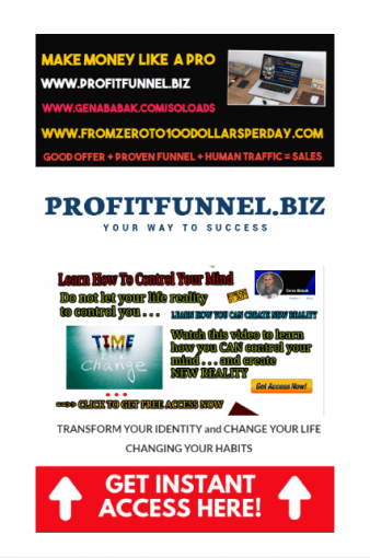 Profit funnel for affiliate marketing business