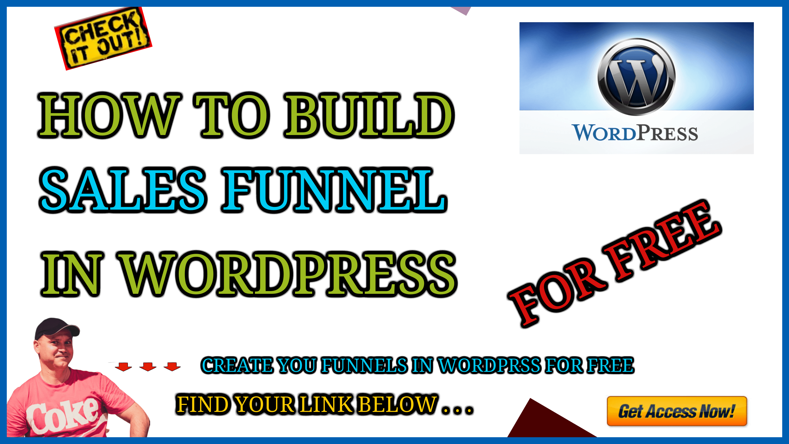 How to build a sales funnel in wordpress for free