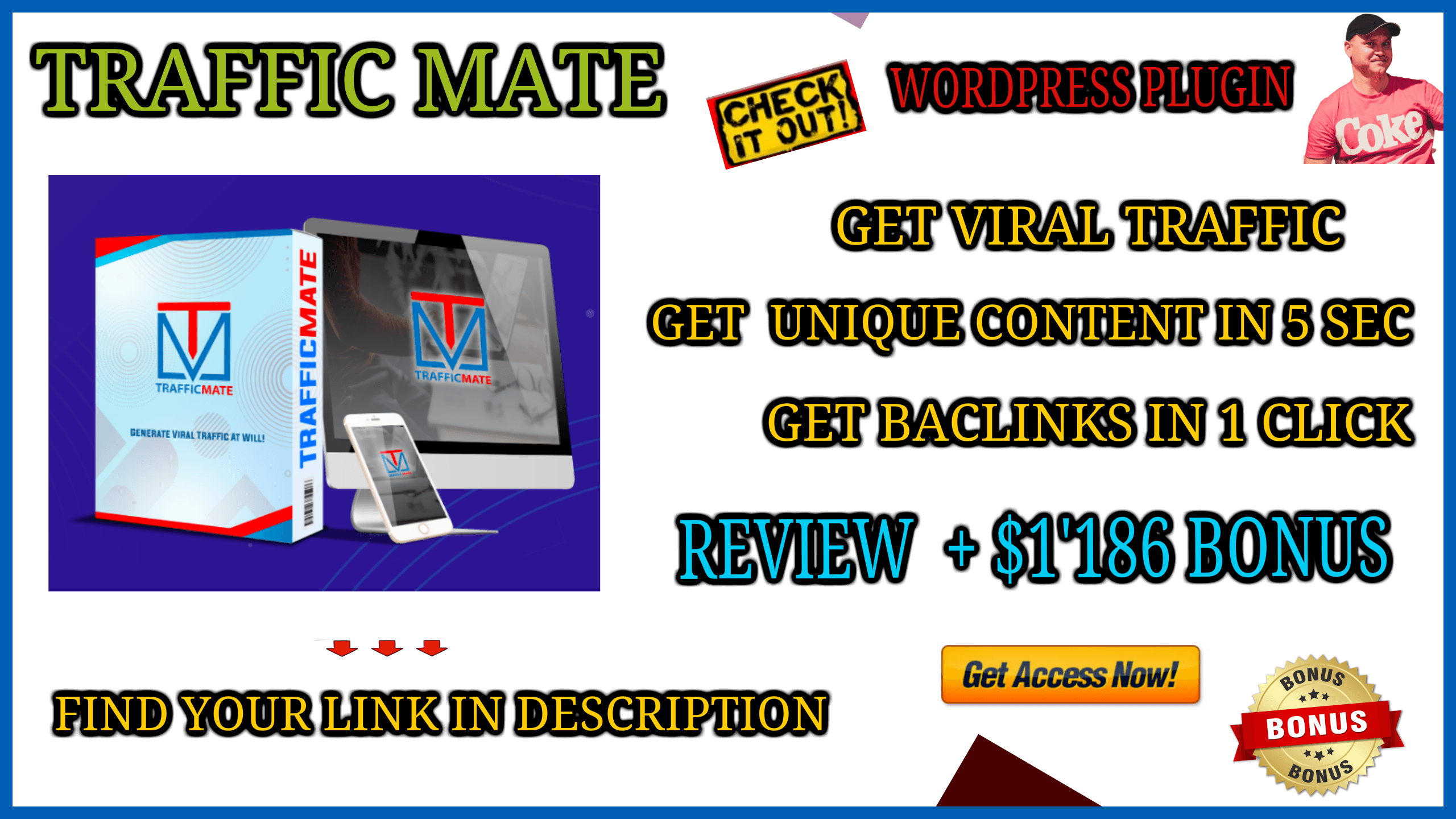 Traffic Mate Review and custom bonus