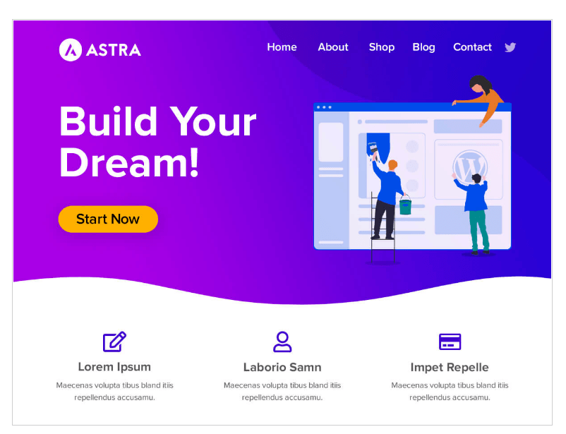 How to build a sales funnel in WordPress using free ASTRA theme and BRIZY plugin
