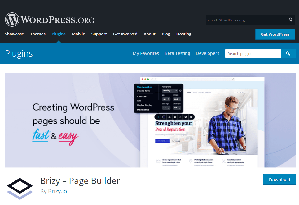 Creating a sales funnel in WordPress for free with BRIZY page builder