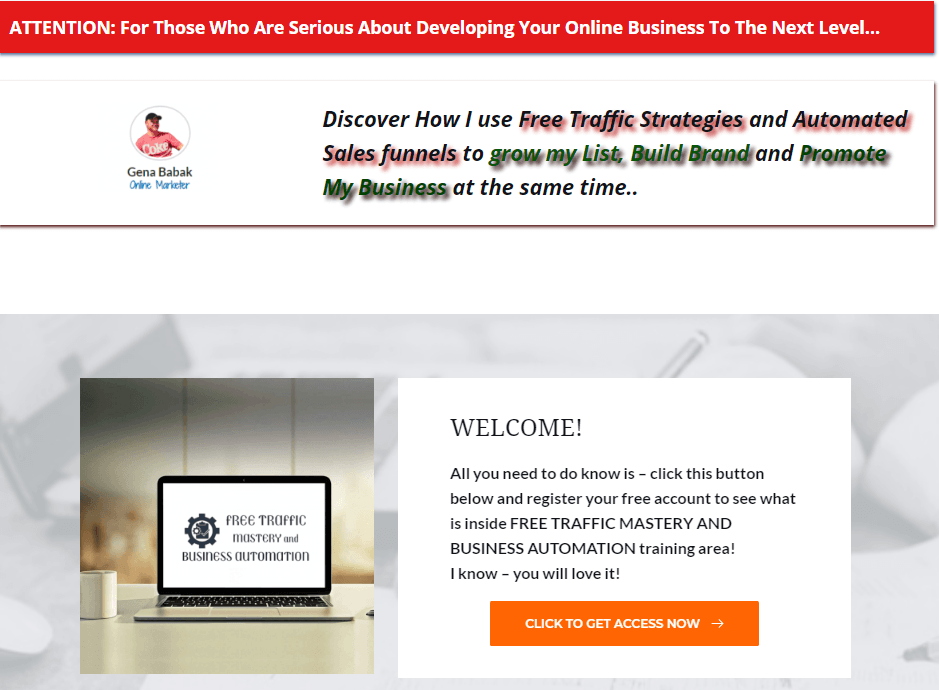 Using WordPress to create a sales funnel