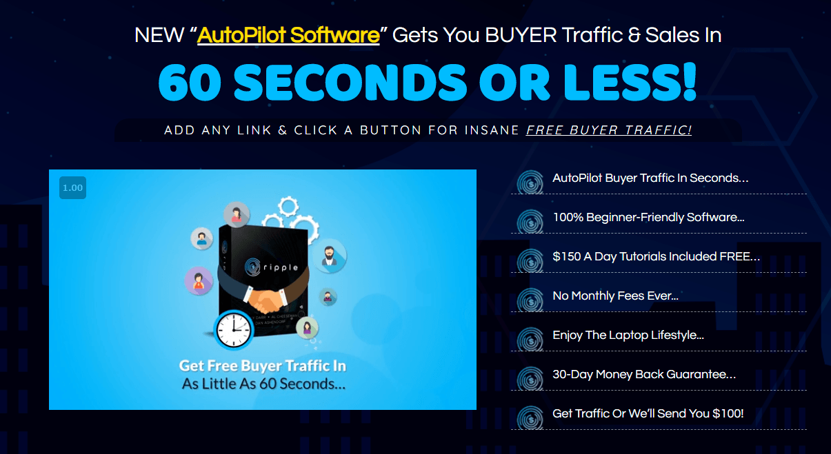 RIPPLE REVIEW - GET BUYER TRAFFIC FAST