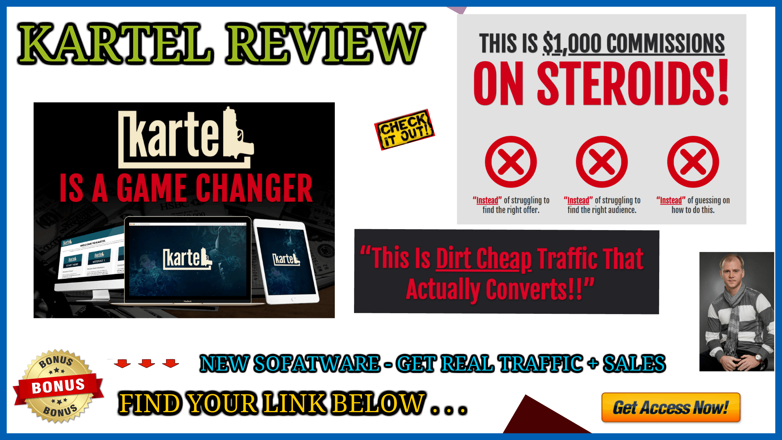 KARTEL REVIEW - new software generates high ticket sales on autopilot