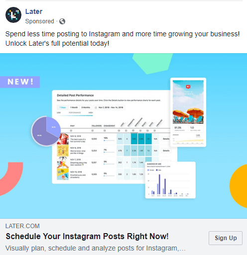Schedule your Instagram posts with Later