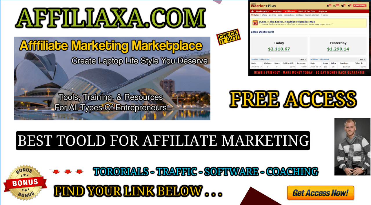 AFFILIAXA - AFFILIATE MARKETING MARKETPLACE