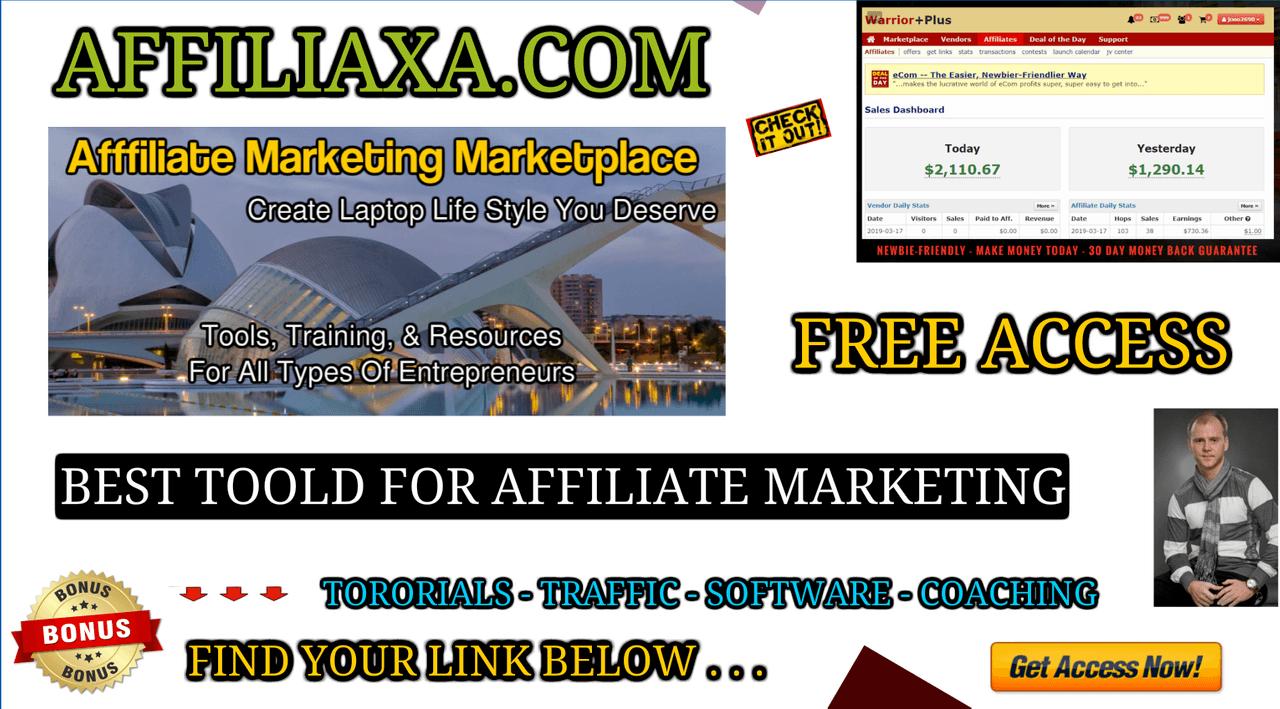 AFFILIAXA - AFFILIATE MARKETING MARKETPLACE