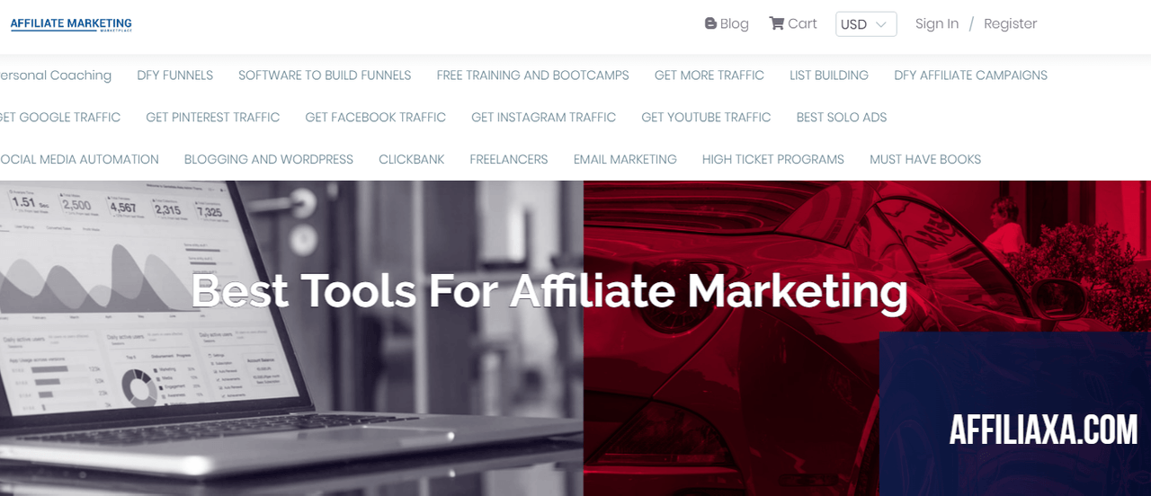 Best tools for affiliate marketing business