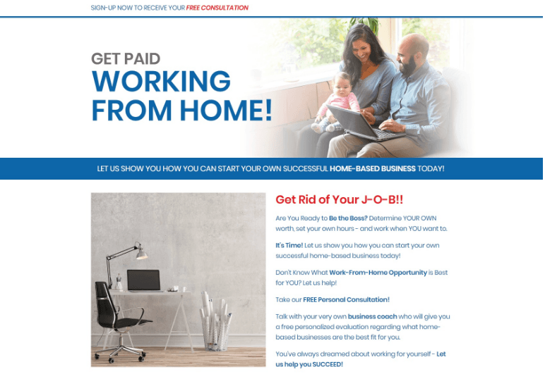 WORK FROM HOME CPA OFFERS FOR AFFILIATE MARKETING BUSINESS