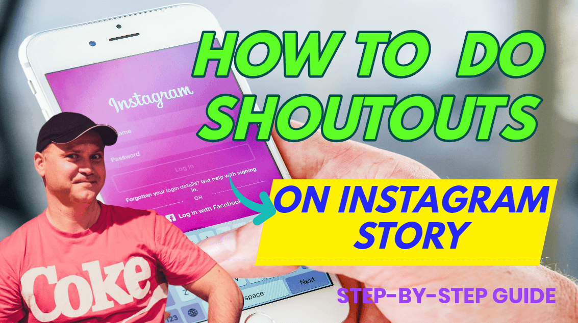 How to do shoutout on Instagram story - beginners guide 2020