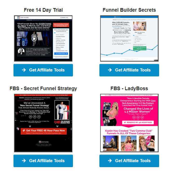 Clickfunnels affiliate program resources