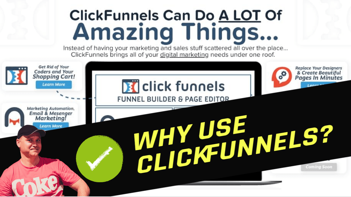Why Clickfunnels? Clickfunnels review by Gena Babak