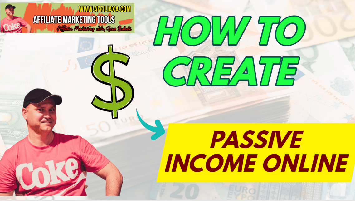 How to create passive income online in 2020