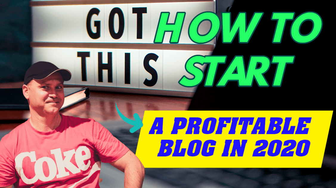How to start a profitable blog in 2020