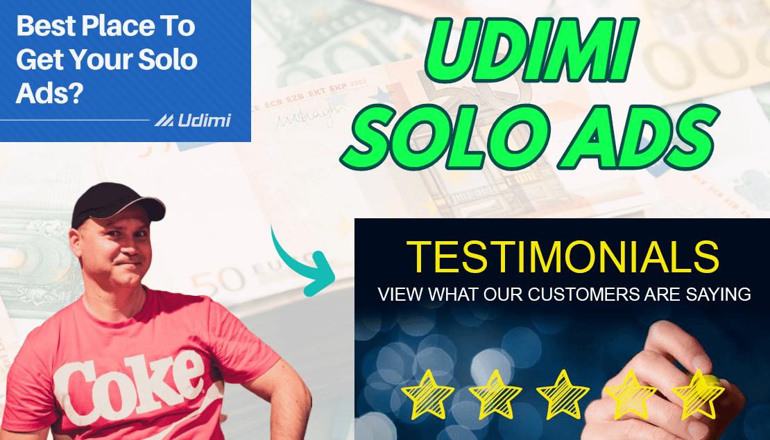 UDIMI SOLO ADS Testimonials 2020