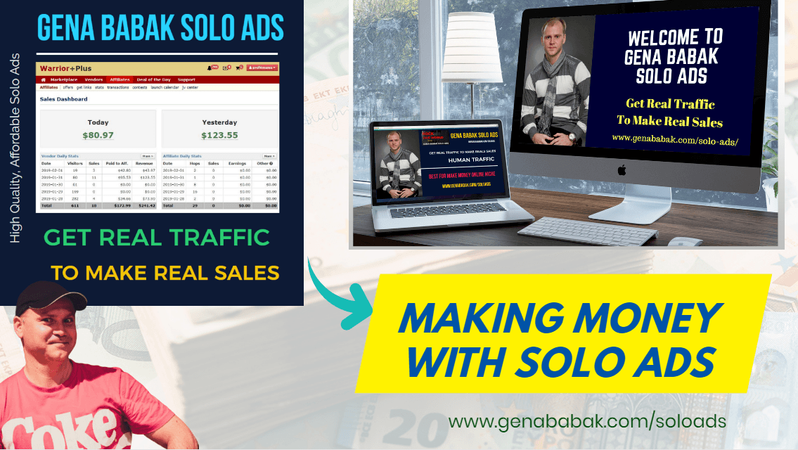 Gena Babak Solo Ads review - solo ads traffic