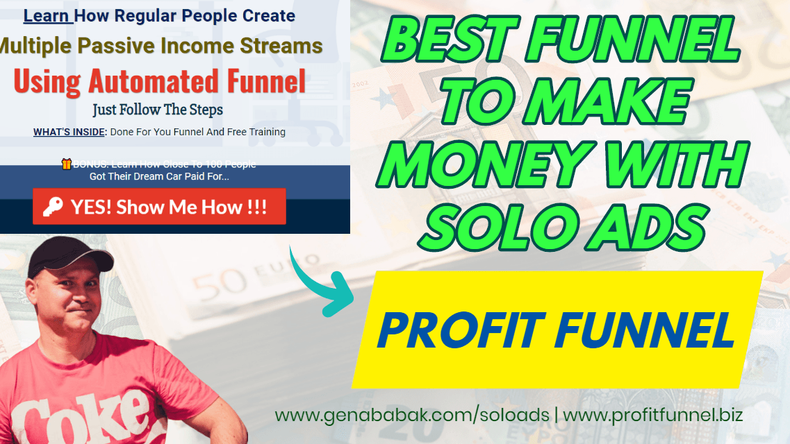 Best sales funnel for solo ads traffic - profitfunnel