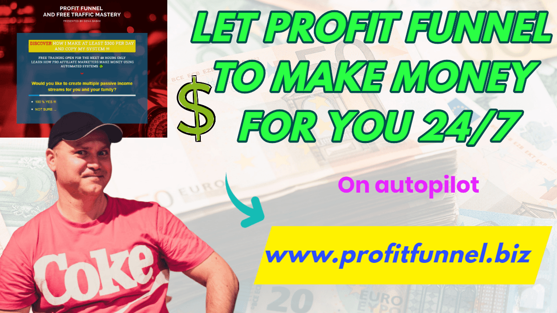 How to use profit funnel to make money with Clickfunnels affiliate program