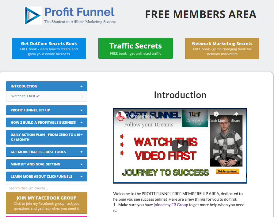 WHAT IS PROFIT FUNNEL AND HOW TO USE PROFIT FUNNEL TO MAKE MONEY WITH CLICKFUNNELS