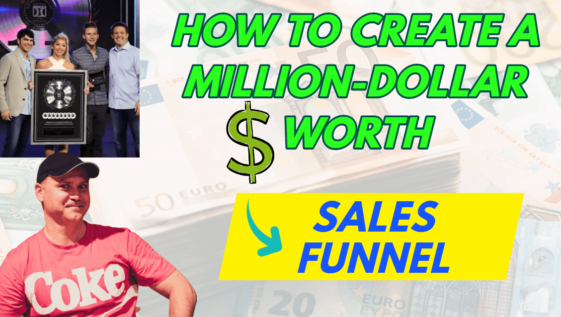 How to create a million-dollar worth sales funnel with zero tech experience