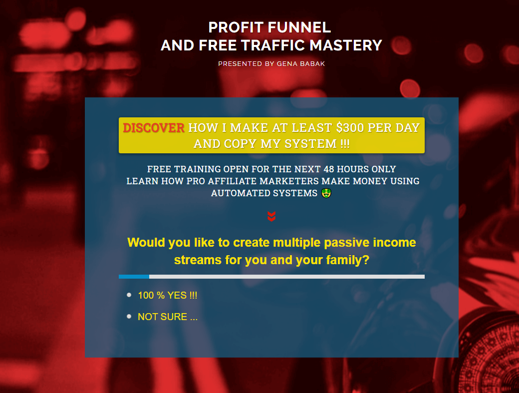 How to make money and create passive income online with automated sales funnel