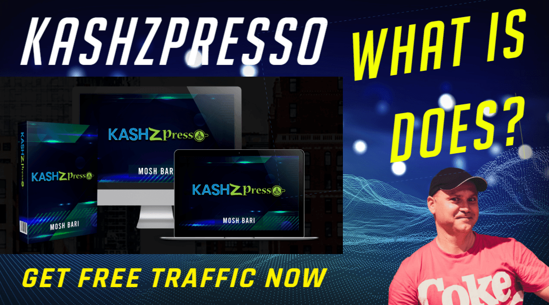 KashZPresso review and demo -  WHAT IT DOES?