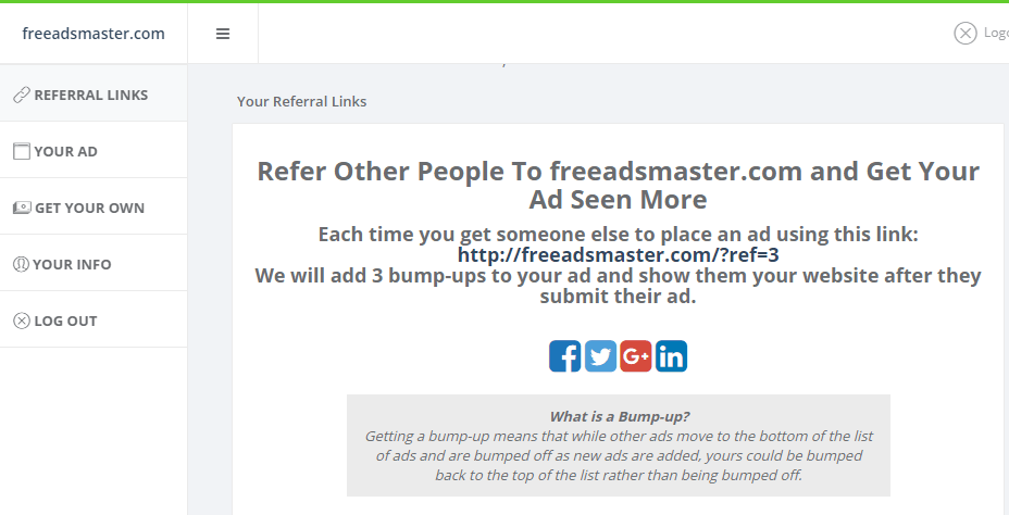 How to promote your website for free with freeafsmaster