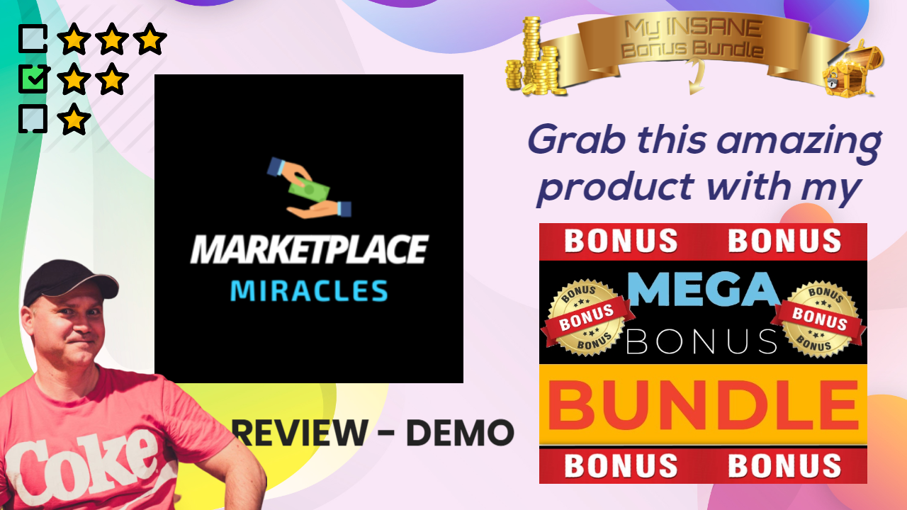 Marketplace Miracles review and bonus