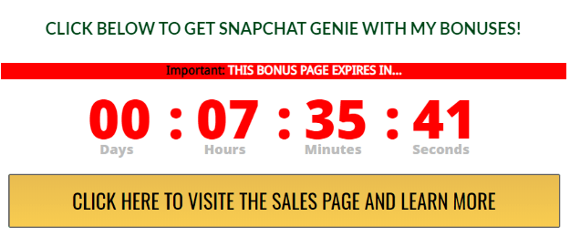 BUY SNAPCHAT GENIEW WITH MY BONUSES