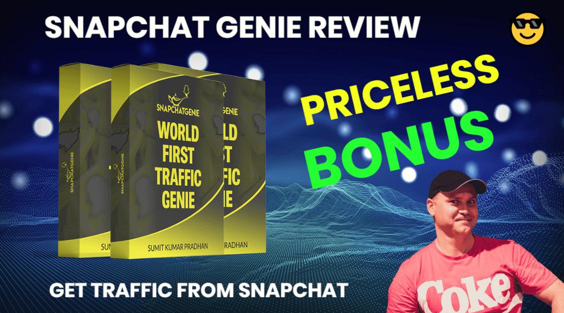 Snapchat Genie review and priceless bonus