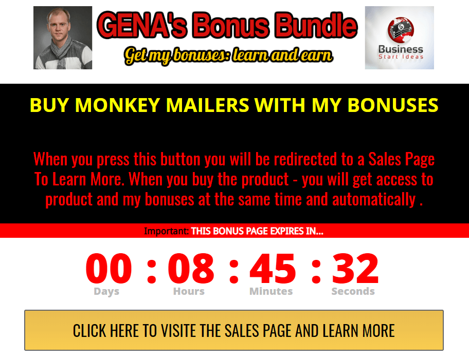 MONKEY MAILERS review and bonus