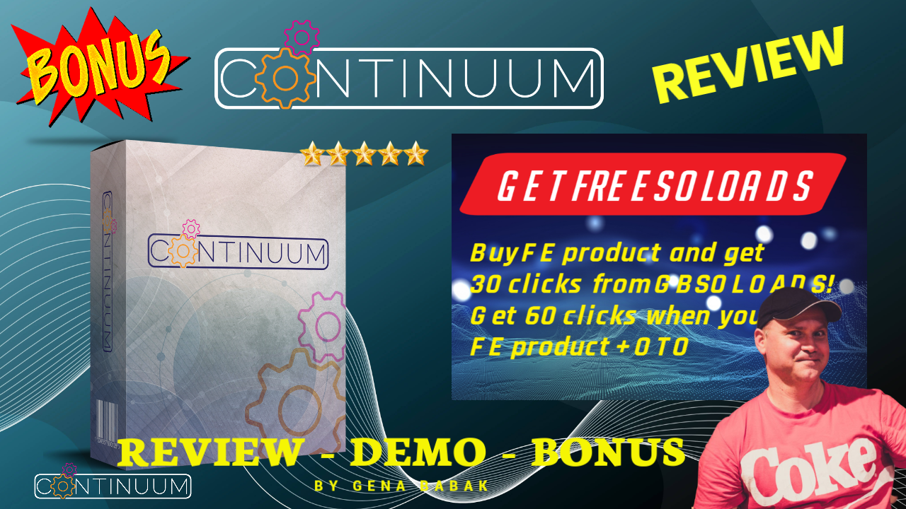 Continuum review - High Ticket Machine from Jono Armstrong