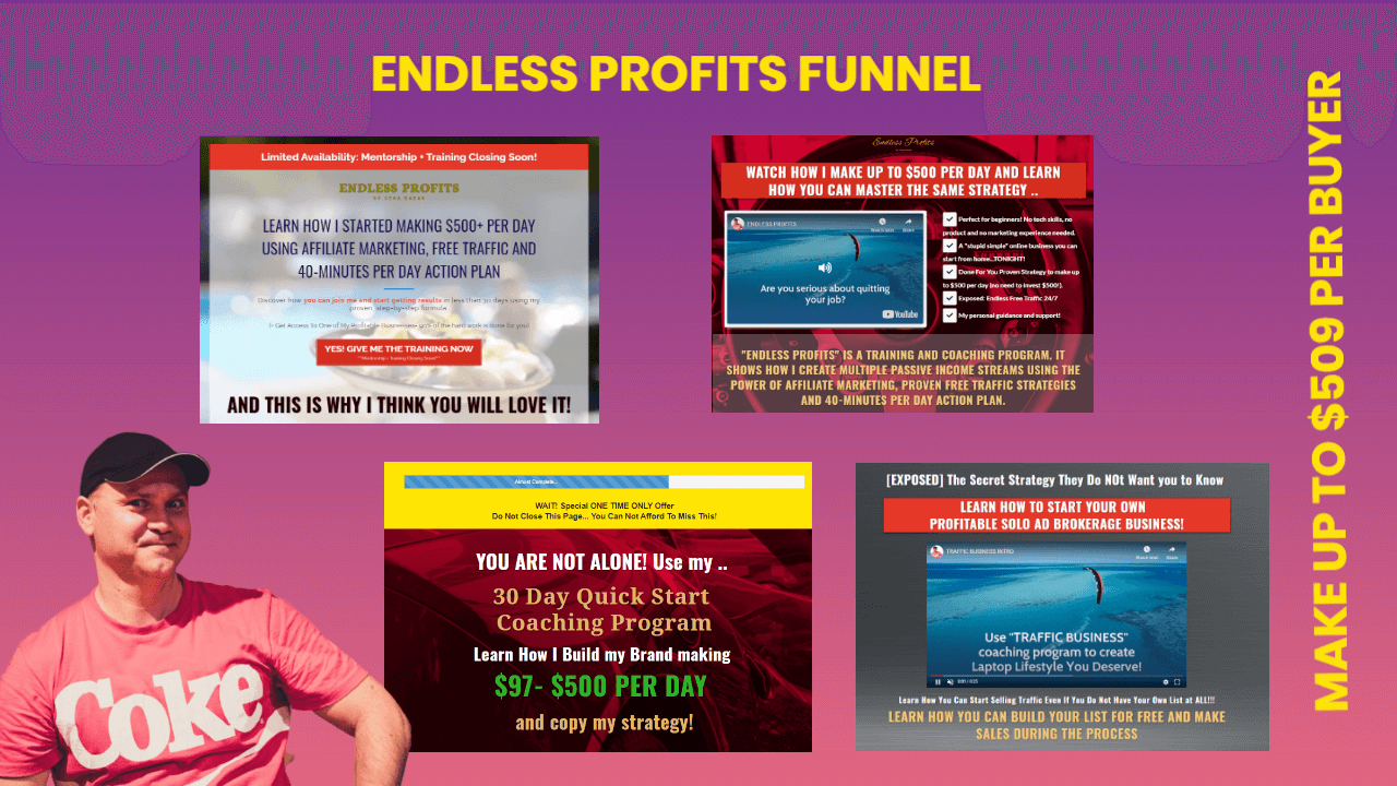 ENDLESS PROFITS review - the FUNNEL