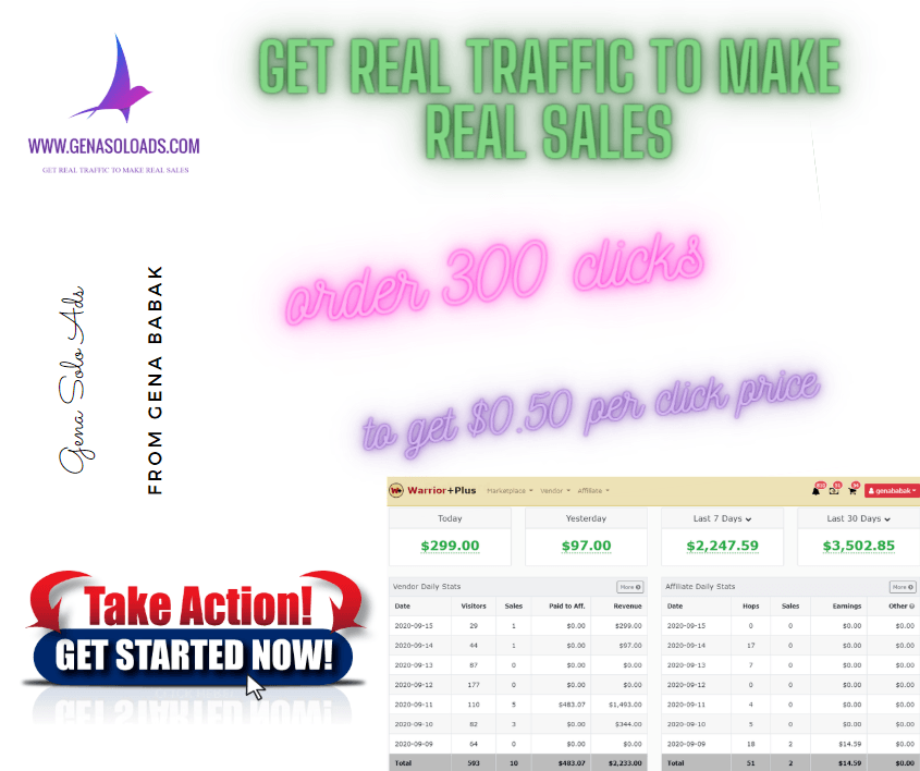 Genasoloads for affiliate marketing. Get started with Genasoloads now