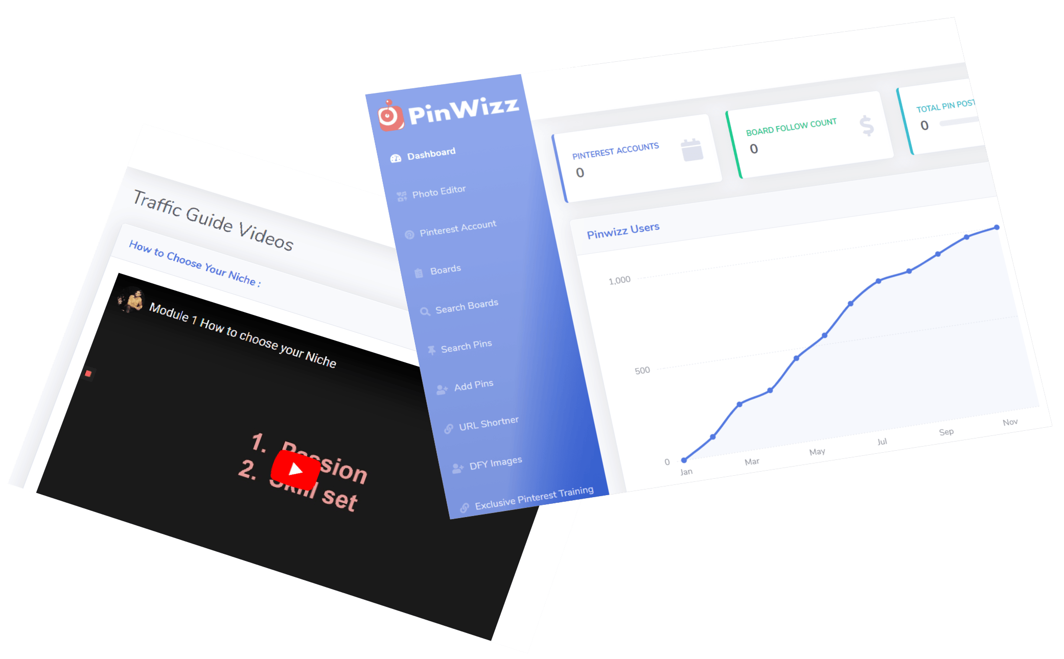 PinWizz review and DEMO by Gen Babak
