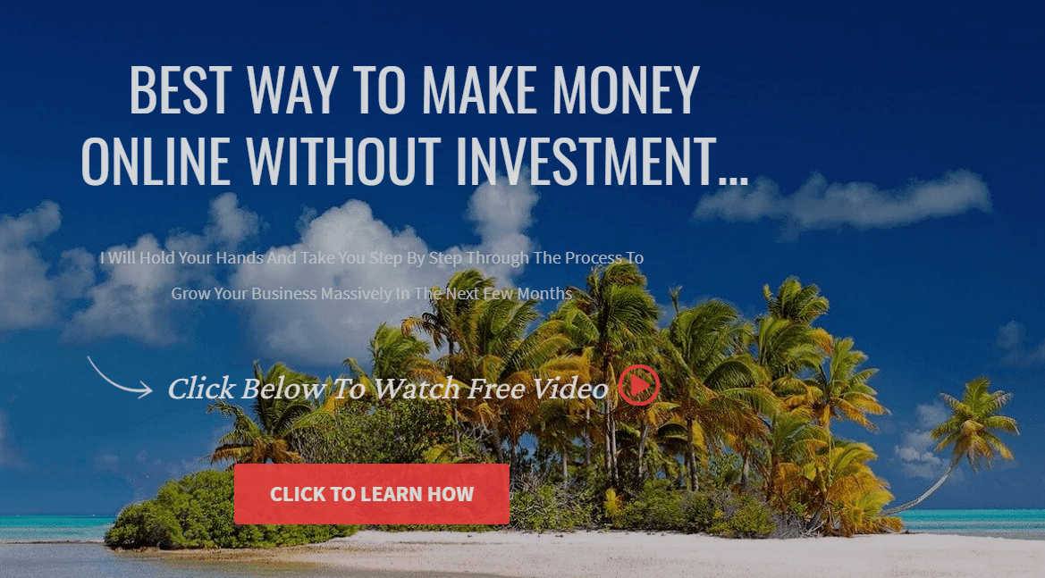 Best Way To Make Money Online Without Investment. GrooveFunnels affiliate program.