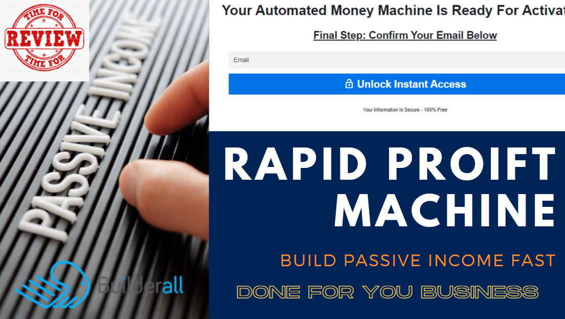 How To Promote Builderall Affiliate Program With Rapid Profit Machine Free Funnel