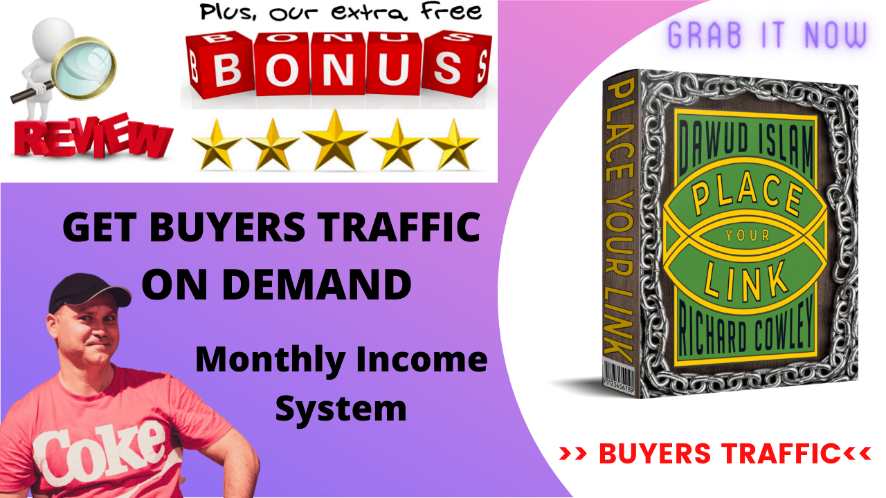 Place your link review and bonus